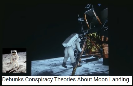 Debunks Moon Landing Conspiracies
