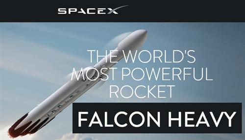 Space X Heavy Lift Website