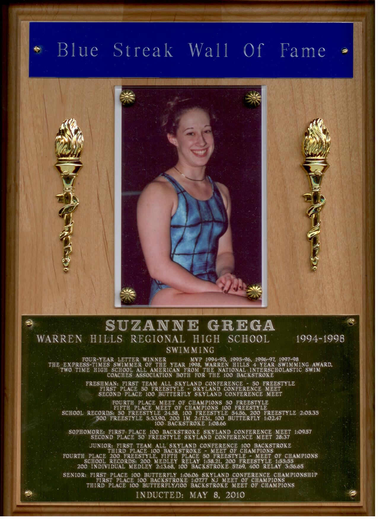 Blue Streak 'Wall of Fame' / Individuals Inducted into the ...